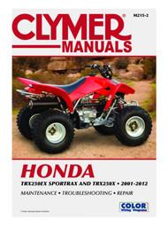 Clymer Repair/Service Manual '01-12 Honda TRX250EX Sportrax/TRX250X (M215-2)