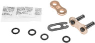Fly Racing 520 O-Ring Racing Chain Master Link Gold (520FRO/G-SBJ)
