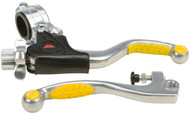 Fly Racing Pro Kit Shorty Easy Pull Clutch Lever Yellow (5W1171)