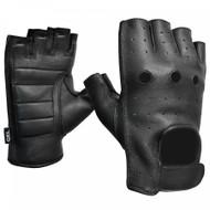 Fulmer 551 Omen Mens Fingerless Leather Motorcycle Gloves
