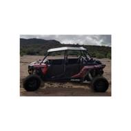 DragonFire Aluminum Roof for Polaris RZR 4 Seat Black (18-1002)