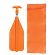 Airhead Telescoping Emergency Paddle w/Nylon Bag Orange (P-2)