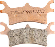 EBC R Series Sintered Brake Pads (FA314R)