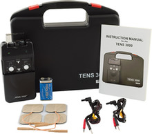 TENS 3000 3-mode with Timer Tens Unit Kit