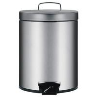 Brabantia Pedaleimer 5 Liter Stahl matt