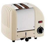 Dualit-Utility 20247 2-Scheiben-Toaster cremefarbene Ausführung
