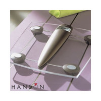 Hanson HX3000 Elektronische Badezimmerwaage aus Glas