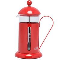 La Cafetiere 3 Tassen Kaffeebereiter in rot