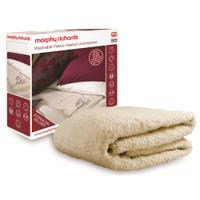 Morphy-Richards Fleece-Heizdecke 600003 fürs Doppelbett mit Einzelschaltung