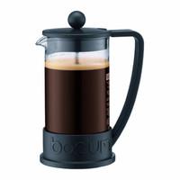 Bodum BRAZIL Kaffeebereiter in schwarz 3-Tassen
