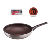 Tefal Pleasure Non-stick Emaille Wok Pfanne 28 cm
