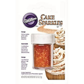 Wilton Cake Sparkles Orange 7.1g