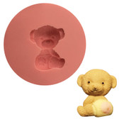 Fondant and Gum Paste Mold Bear in Nappy 24mm BN24