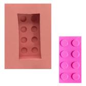 Fondant and Gum Paste Mold Lego  Building Block BB25