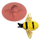 Fondant and Gum Paste Mold Bumble Bee BB32