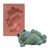 Fondant and Gum Paste Mold Frog Reclining 55mm F55
