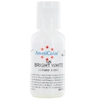 AmeriColor Bright White Soft Gel Paste Food Color 21g