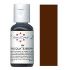 AmeriColor Chocolate Brown Soft Gel Paste Food Color 21g