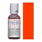 AmeriColor Electric Orange Soft Gel Paste Food Color 21g