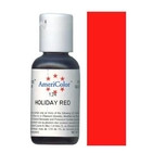 AmeriColor Holiday Red Soft Gel Paste Food Color 21g
