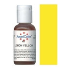 AmeriColor Lemon Yellow Soft Gel Paste Food Color 21g