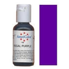 AmeriColor Regal Purple Soft Gel Paste Food Color 21g