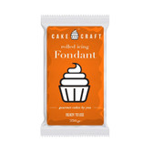 Cake Craft Sunset Orange Fondant 250g