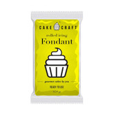 Cake Craft Sunrise Yellow Fondant 250g