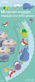 Cupcake Wrappers Under the Sea Pals pk 12