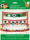 Cake Banner Classic Sport 16.5cm
