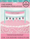 Cake Banner Fairytale Princess16.5cm