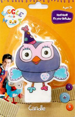 Giggle And Hoot Hootabelle Candle Dimitrios Speciality Cakes Pty Ltd