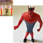AFL Melbourne Demons Figurine and Goal Post Candles