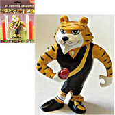AFL Richmond Tigers Figurine and Goal Post Candles