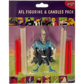 AFL Port Adelaide Figurine and Goal Post Candles