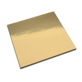 "CAKEBOARD Square Gold STD 7"" - 3PK"