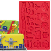 Wilton Robots and Monsters Fondant and Gum Paste Mold