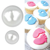 Baby Feet Cutter Set - 2 pieces