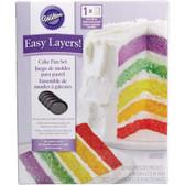 Wilton Easy Layers! 6 in. Cake Pan Set, 5 Pc.