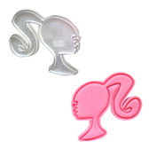 Barbie Logo Plunger Cutter