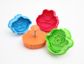Sesame Street Plunger Cutter Set of 4