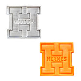 Hermes Logo Plunger Cutter