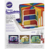 Checkerboard Cake Set Square