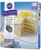 Wilton Easy Layers! 4 Piece Square Pan Set