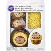 Wilton Monkey Cupcake Decorating Kit