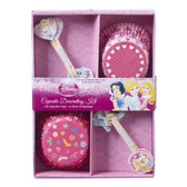 Disney Princess Party Cupcake Decorating Kit 24pk