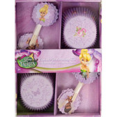 Tinkerbell Fairies Cupcake Decorating Kit 24pk