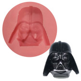Fondant and Gumpaste Mold Darth Vader 35mm DVR35
