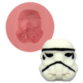 Fondant and Gumpaste Mold Storm Trooper 38mm ST38