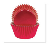 CAKECRAFT  700 RED FOIL BAKING CUPS  PACK OF 72